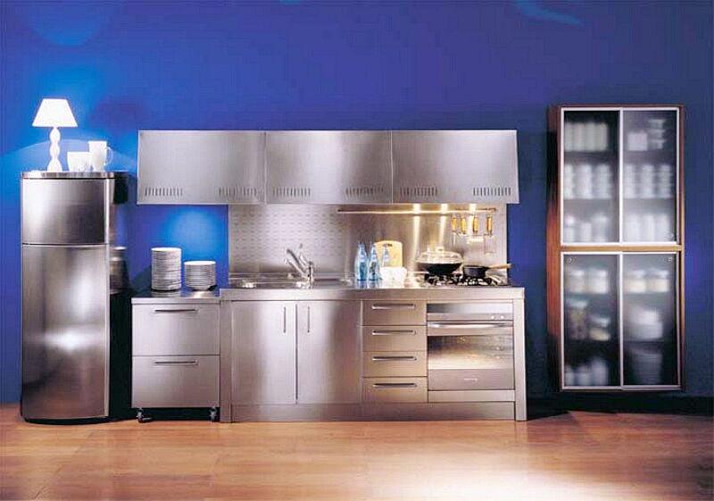 Arca Cucine Italia Cucine Domestiche In Acciaio Inox 03 1 Valeria 0001
