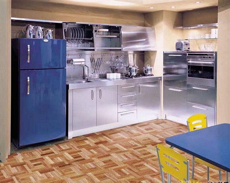 Arca Cucine Italia Cucine Domestiche In Acciaio Inox 03 Tekna 0001