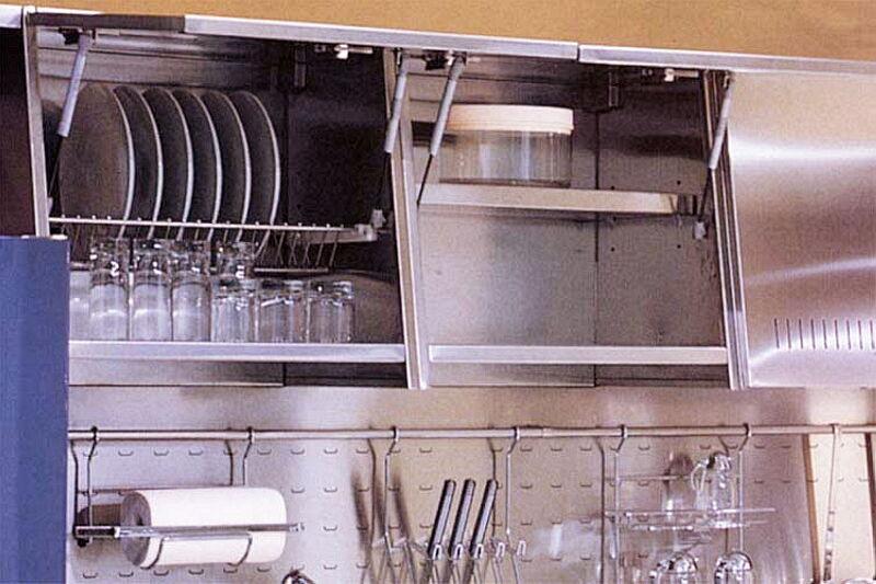 Arca Cucine Italia Cucine Domestiche In Acciaio Inox 03 Tekna 0003