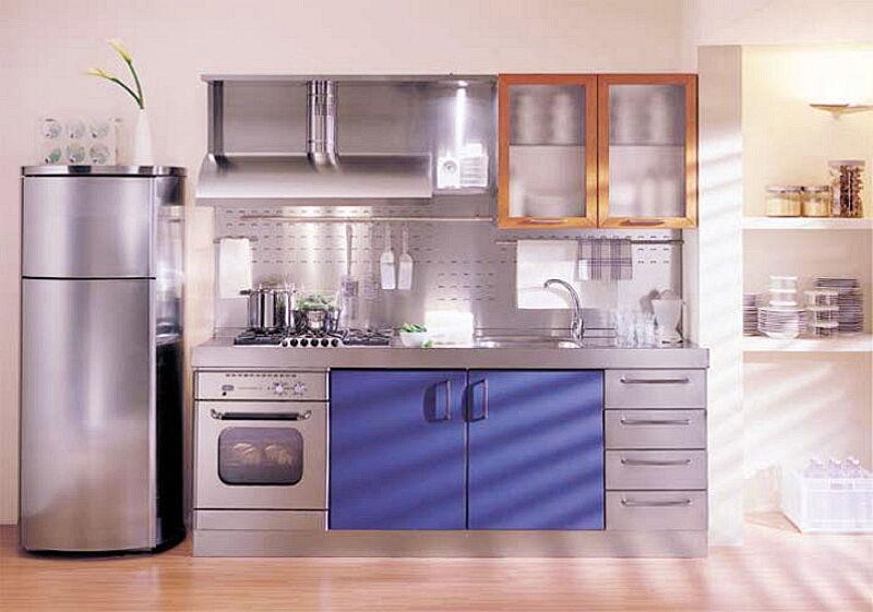 Arca Cucine Italia Cucine Domestiche In Acciaio Inox 05 Giulia 0001