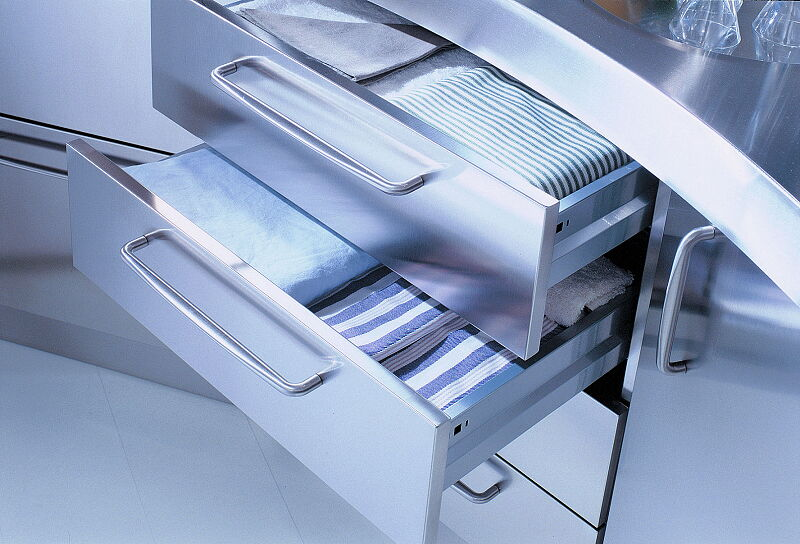 Ark Kitchens Italian Kitchens Milf Stainless Steel 08 Venus 0005