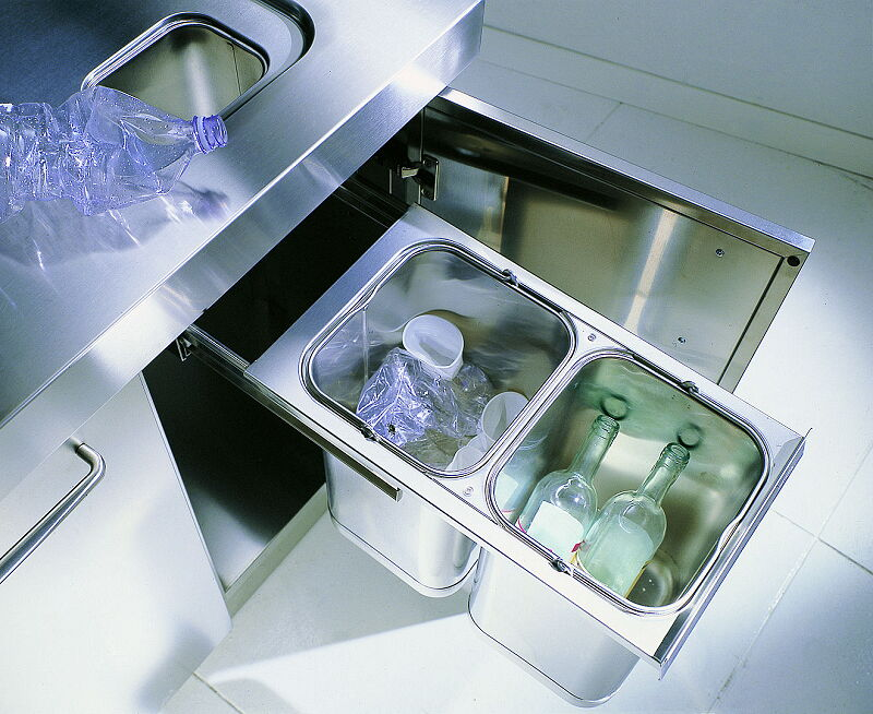 Ark Kitchens Italian Kitchens Milf Stainless Steel 09 Spring 0005