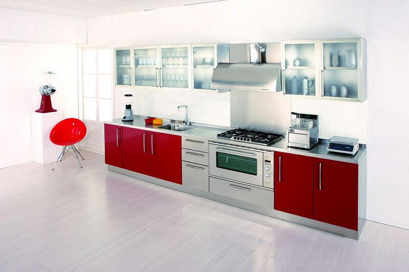 Arca Cucine Italia Cucine Domestiche In Acciaio Inox 13 Gourmet 0004