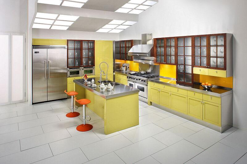 Arca Cucine Italia Cucine Domestiche In Acciaio Inox 14 Cambridge 0001