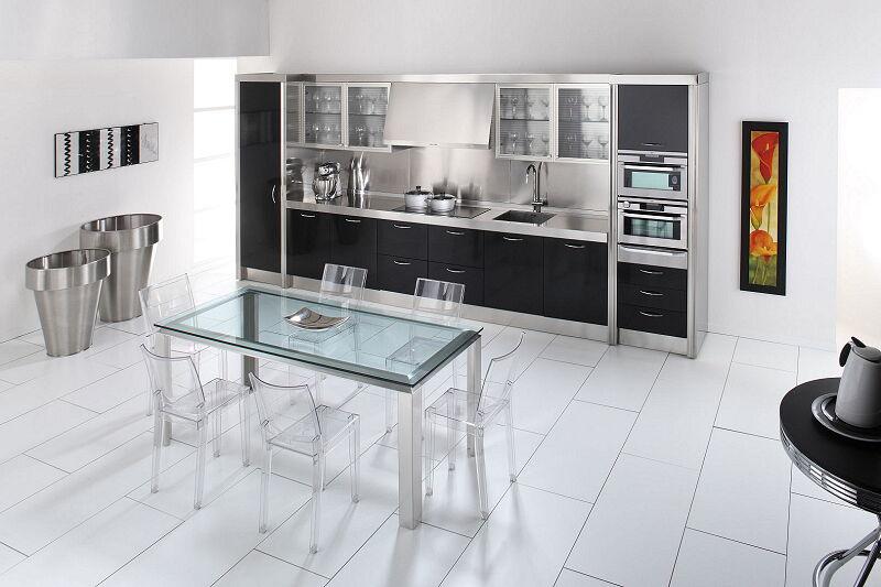 Arca Cucine Italia Cucine Domestiche In Acciaio Inox 15 Essex 0006