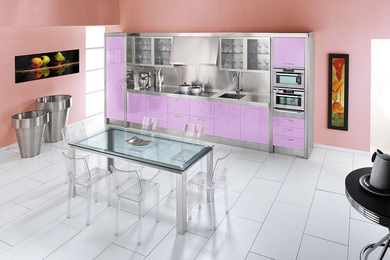 Arca Cucine Italia Cucine Domestiche In Acciaio Inox 15 Essex 0009