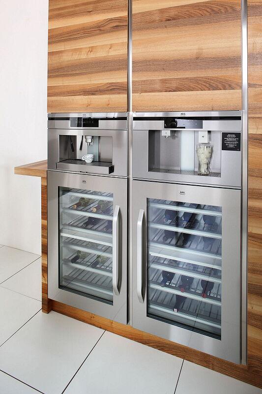 Ark Kitchens Italian Kitchens Milf Stainless Steel 16 Open 0003