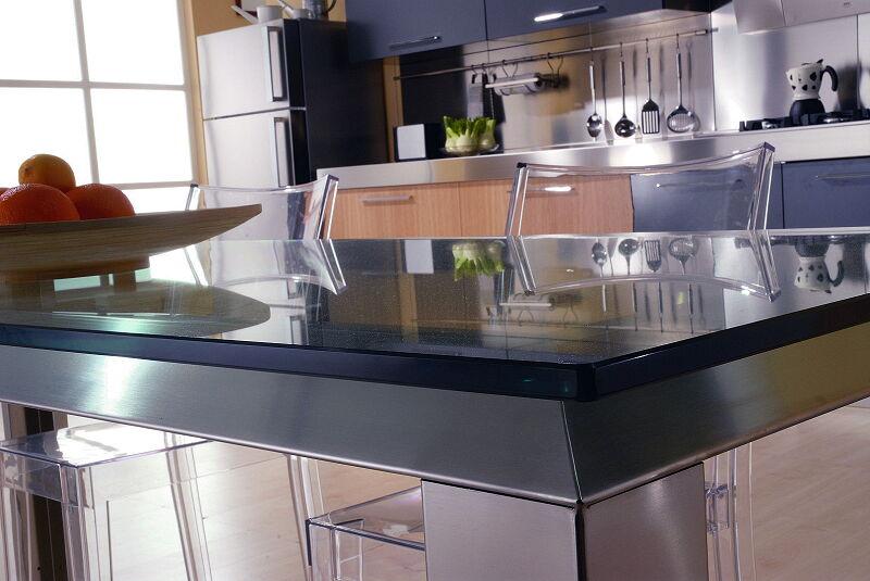 Arca Cucine Italia Cucine Domestiche In Acciaio Inox 18 Quadra 0002