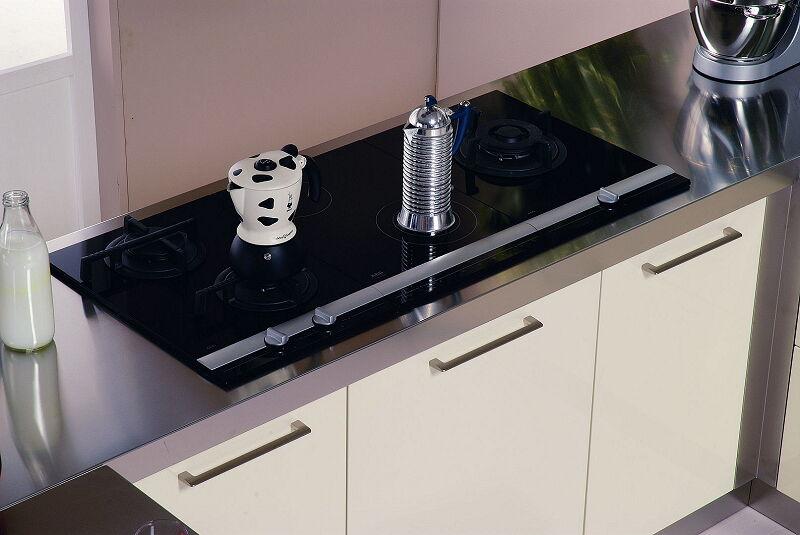 Ark Kitchens Italian Kitchens Milf Stainless Steel 20 Retunne 0001