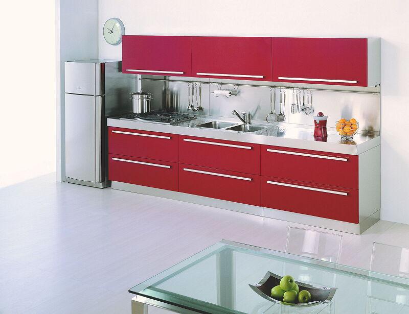 Arca Cucine Italia Cucine Domestiche In Acciaio Inox 21 Mebel 0001