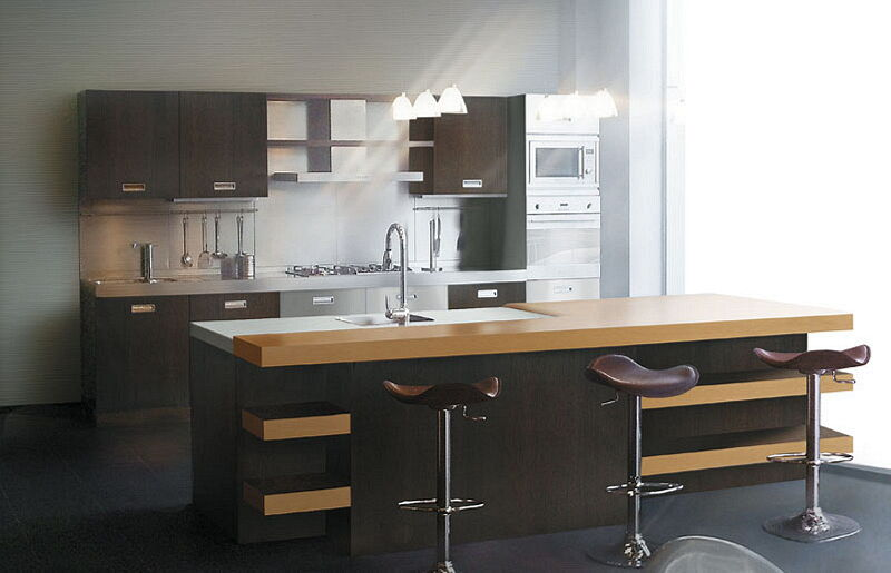 Arca Cucine Italia Cucine Domestiche In Acciaio Inox 22 Living 0001