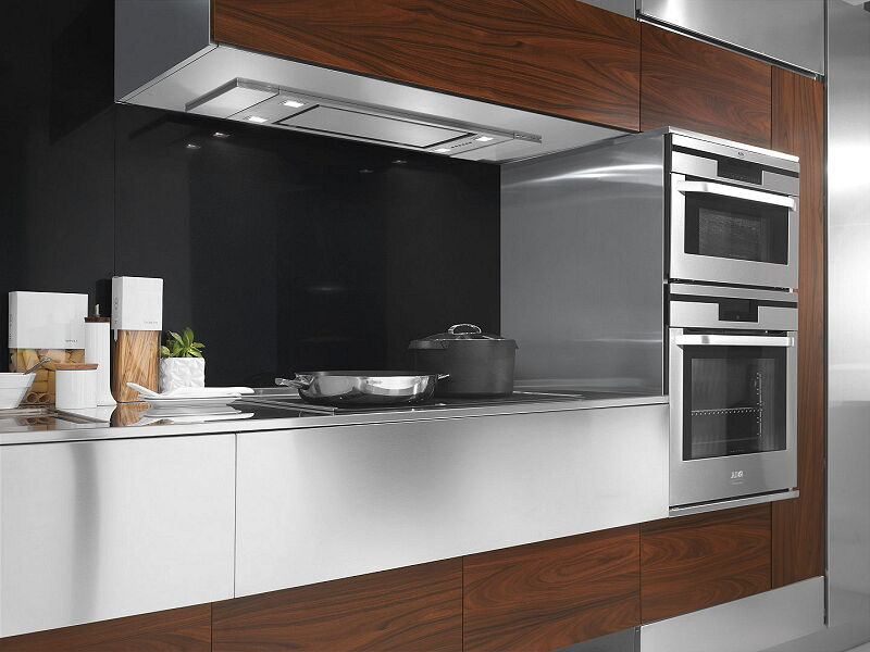 Arca Cucine Italia Cucine Domestiche In Acciaio Inox 24 Retro 0004