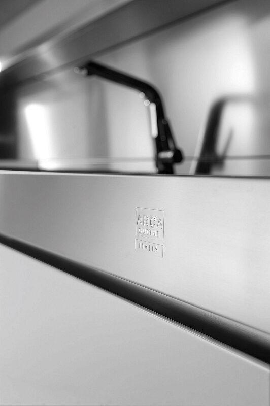 Arca Cucine Italia Cucine Domestiche In Acciaio Inox 25 Trend 0007