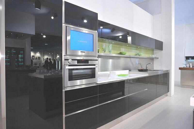Arca Cucine Italia Cucine Domestiche In Acciaio Inox Expo 0002