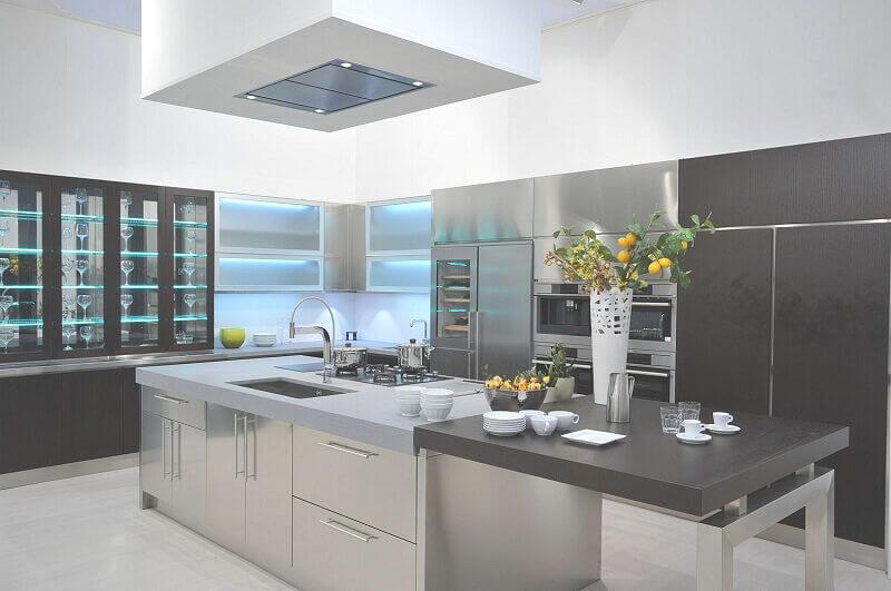 Arca Cucine Italia Cucine Domestiche In Acciaio Inox Expo 0005