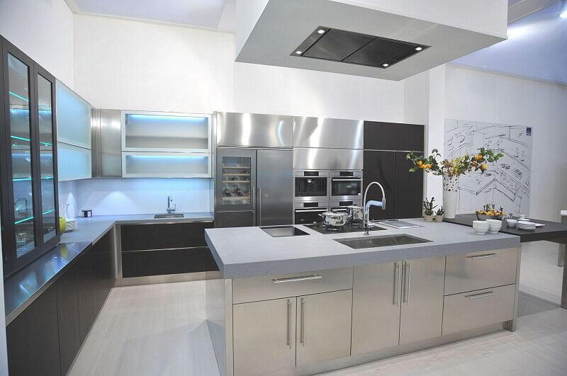 Arca Cucine Italia Cucine Domestiche In Acciaio Inox Expo 0007