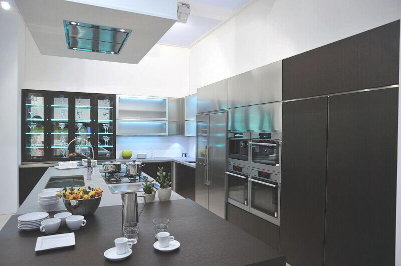 Arca Cucine Italia Cucine Domestiche In Acciaio Inox Expo 0009