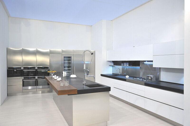 Arca Cucine Italia Cucine Domestiche In Acciaio Inox Expo 0010