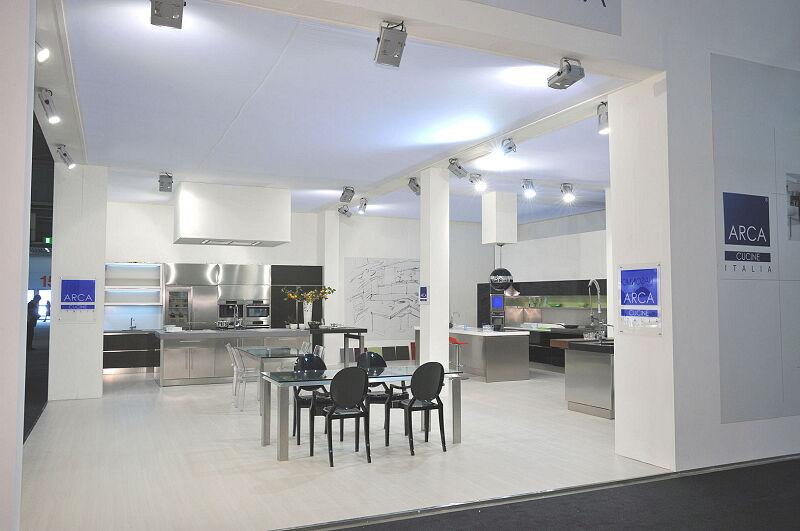 Arca Cucine Italia Cucine Domestiche In Acciaio Inox Expo 0013