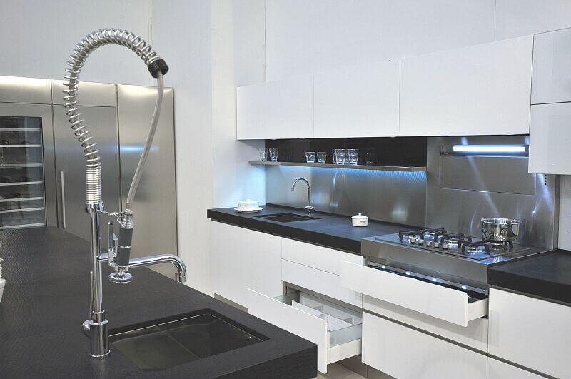 Ark Kitchens Italian Kitchens Milf Stainless Steel Expo 0014