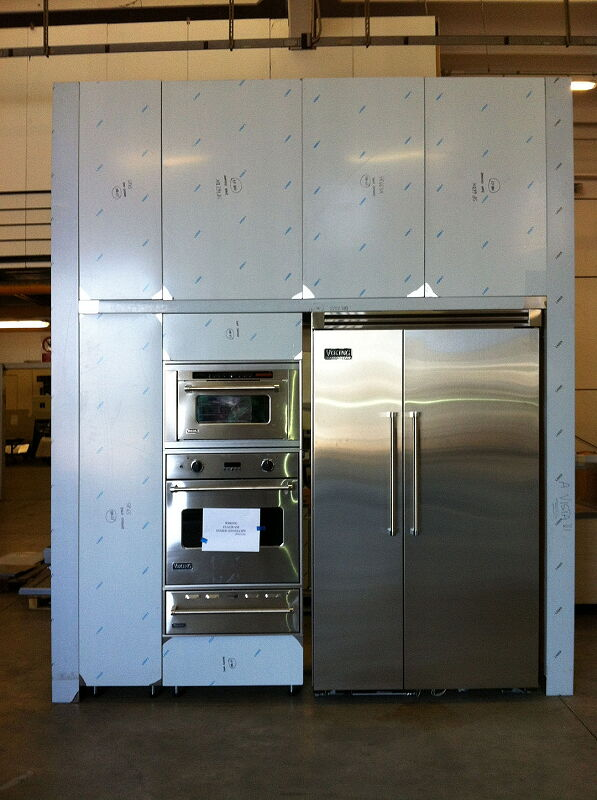Arca Cucine Italia Cucine Domestiche In Acciaio Inox Nannini 0002