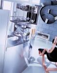 Arca Cucine Italia - Cucine Domestiche in Acciaio Inox - Venere - Retro