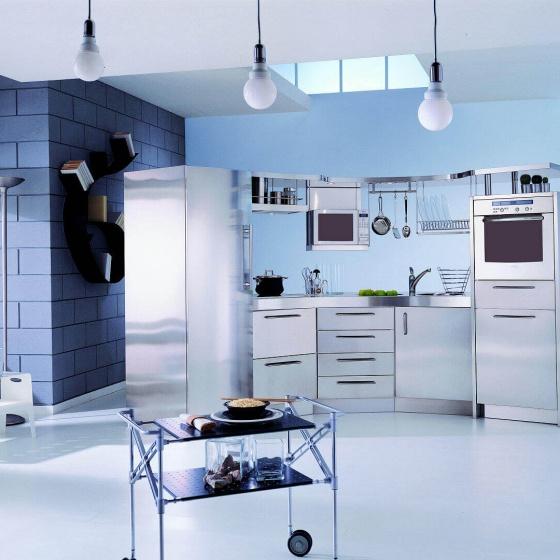 Arca Cucine-Italien - Domestic Edelstahl Küchen - Venus