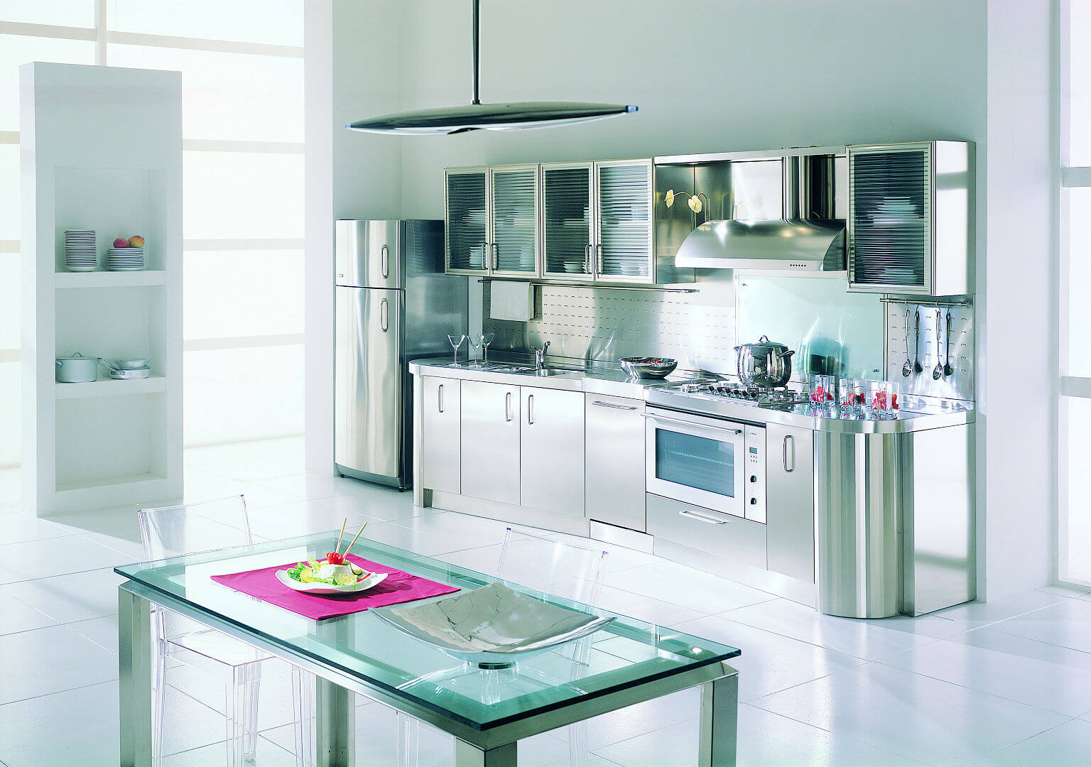 Wagon arca cucine italia cucine in acciaio inox - Cucine in acciaio inox ...