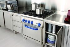 Arca Cucine Italia - Cucine Domestiche in Acciaio Inox - 12 - Gourmet Grand Chef - Blocco Cucina a gas Professionale