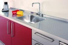 Arca Cucine Italia - Cucine Domestiche in Acciaio Inox - 13 - Gourmet - Lavello