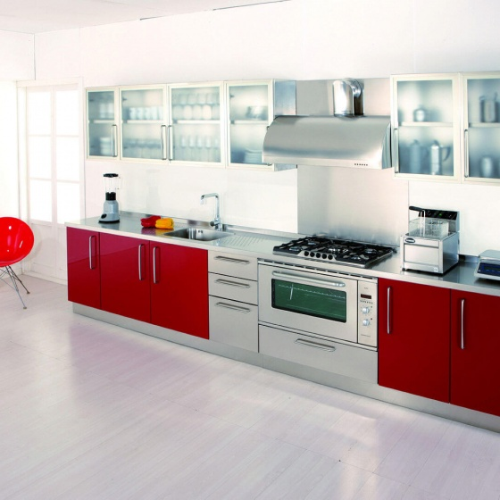 Arca Cucine Italy - Domestic stainless steel kitchens - 13 - Gourmet