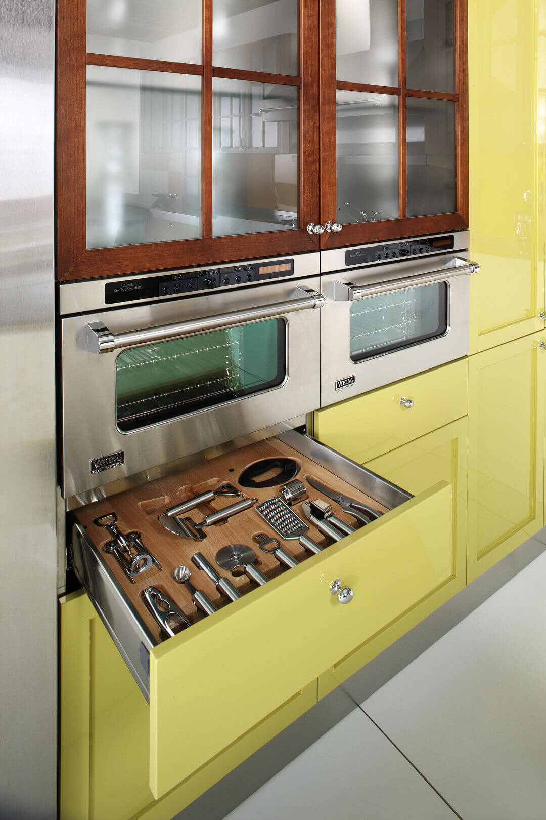 Arca Cucine Italy - Domestic stainless steel kitchens - 14 - Cambridge - Drawer