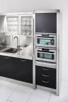 Arca Cucine Italia - Cucine Domestiche in Acciaio Inox - 15 - Essex - Forni