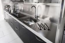 Arca Cucine Italia - Cucine Domestiche in Acciaio Inox - 15 - Essex - Top Cottura Lavaggio