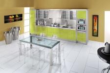 Arca Cucine Italia - Cucine Domestiche in Acciaio Inox - 15 - Essex - Verde