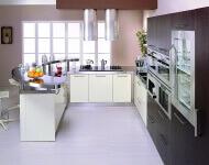 Arca Cucine Italia - Cucine Domestiche Acciaio Inox - Retunne - Angolo