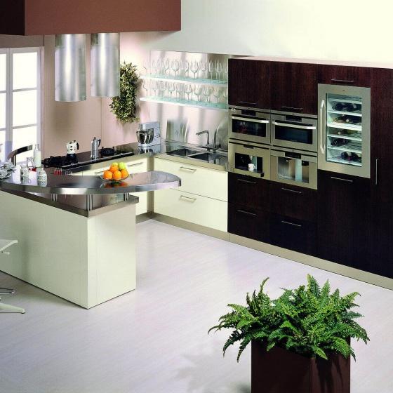 Arca Cucine-Italien - Domestic Edelstahl Küchen - Retunne