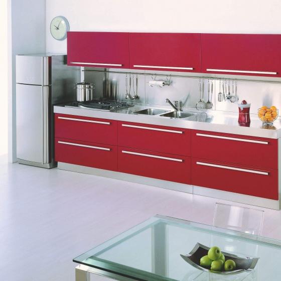 Arca Cucine-Italien - Home Küche Edelstahl - MEBEL