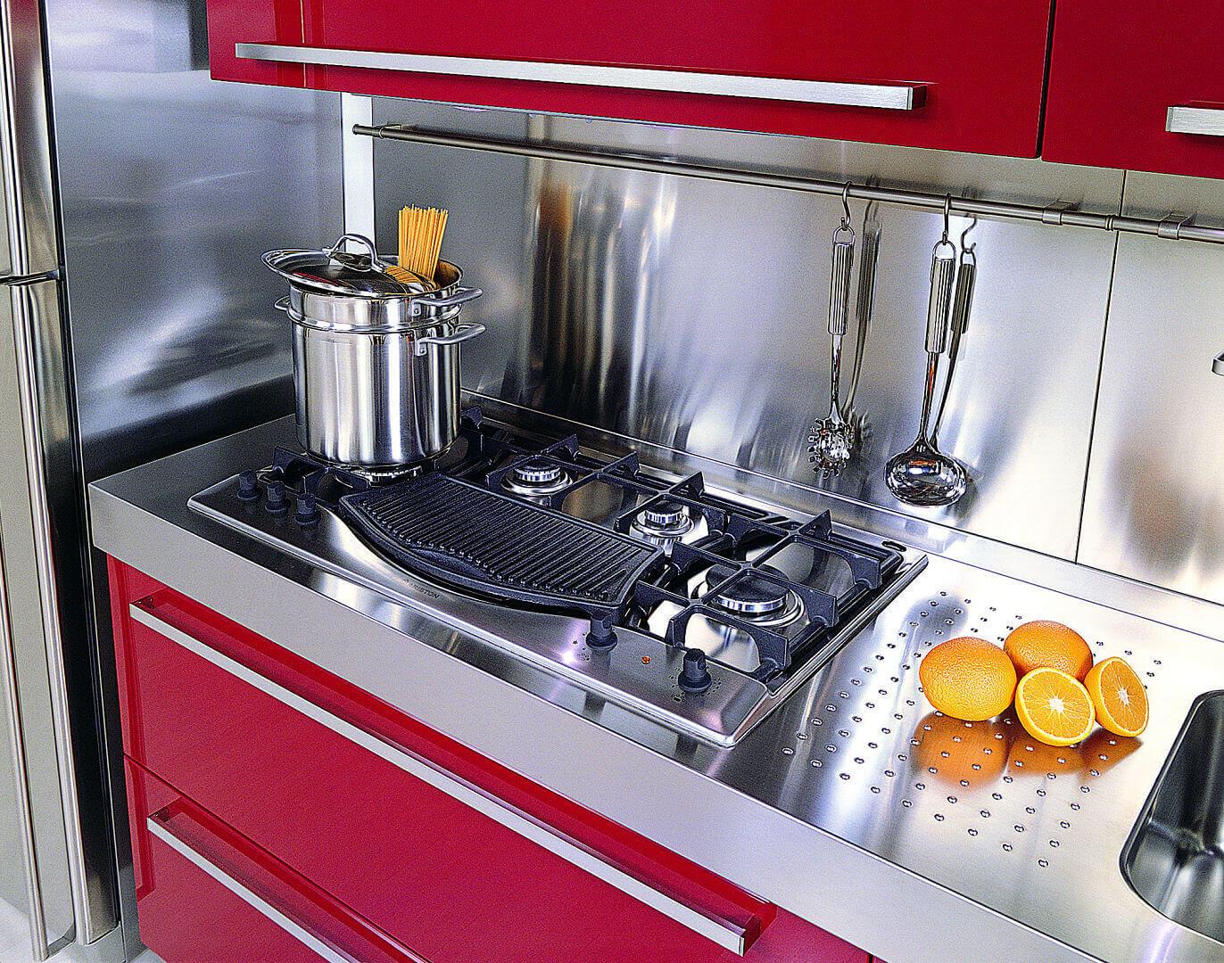 Arca Cucine Italy - Home Kitchen Stainless Steel - Mebel
