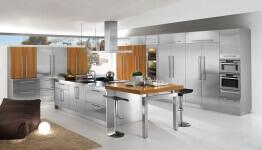 Arca Cucine Italia - Cucine Domestiche in Acciaio Inox - 23 - Barn - 0001