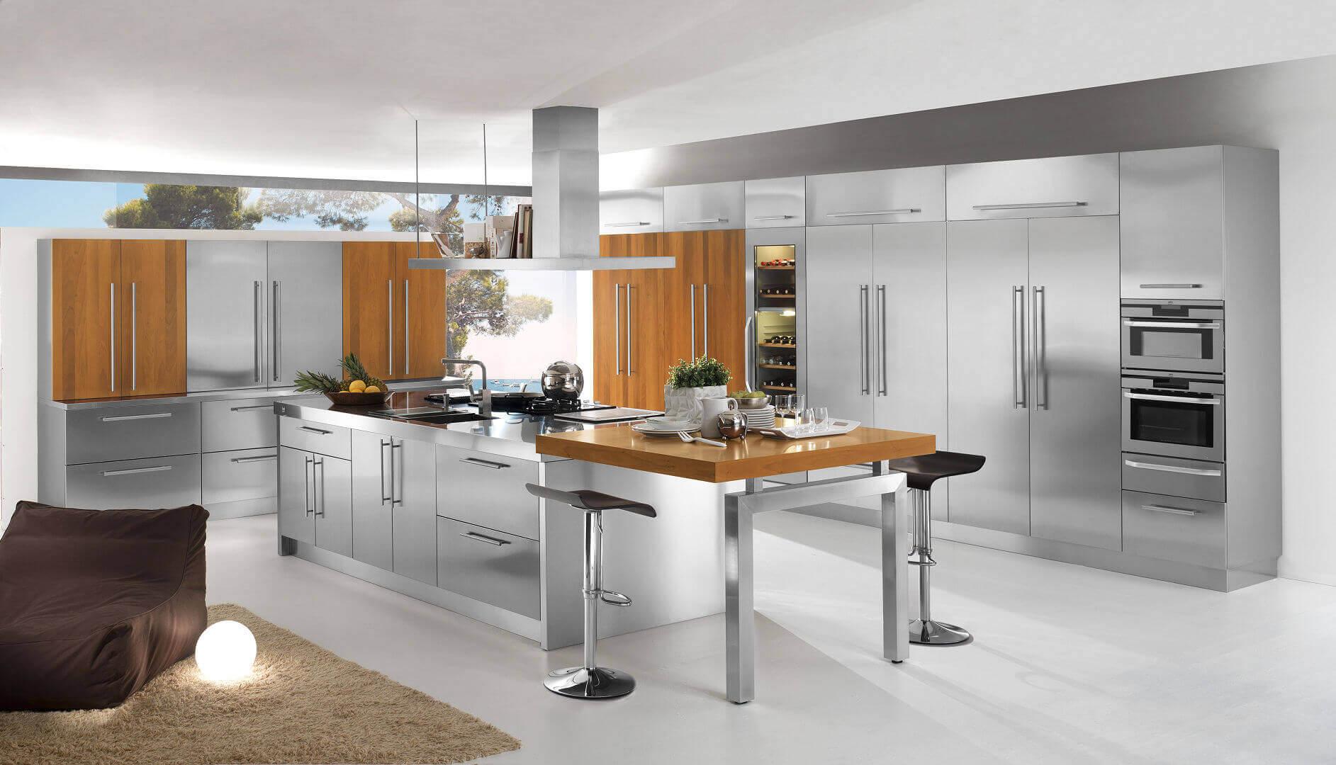 Molto Modelli - Arca Cucine Italia - Cucine in Acciaio Inox IT57