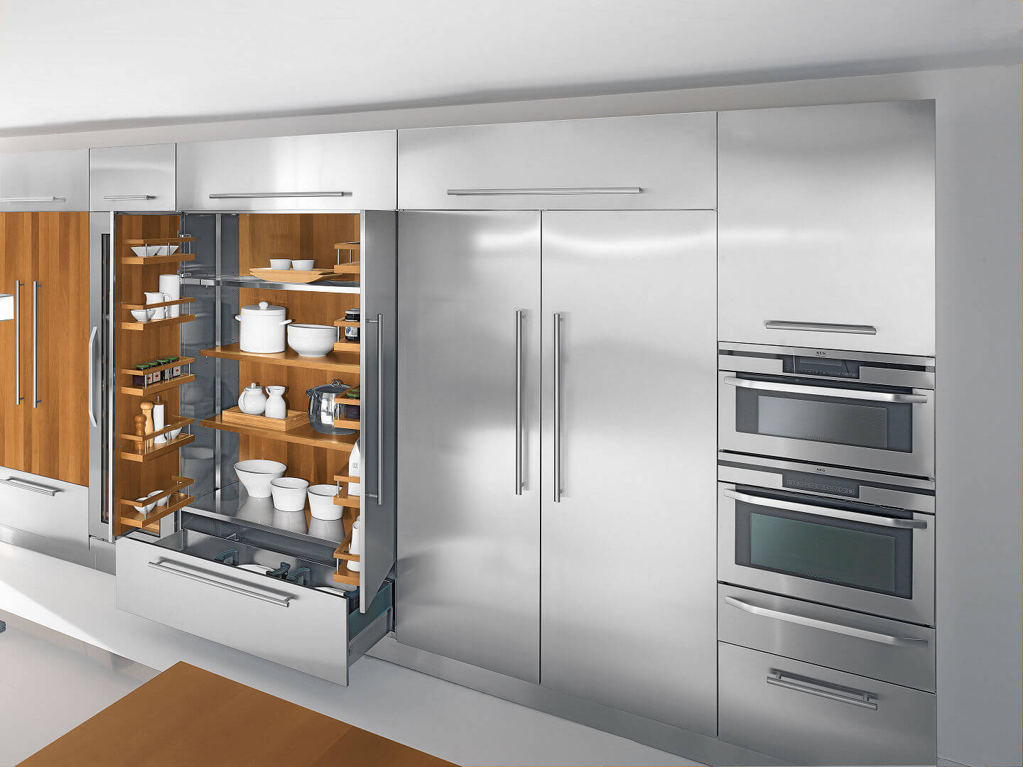 Arca Cucine Italy - Domestic stainless steel kitchens - 23 - Barna - 001