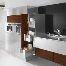 Arca Cucine Italia - Cucine Domestiche in Acciaio Inox - 24 - Retro - 0002